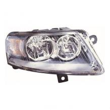 AUDI A6 C6-ALLROAD 6/2004-3/2009 CHROME HEADLAMP HEADLIGHT DRIVER SIDE RIGHT O/S
