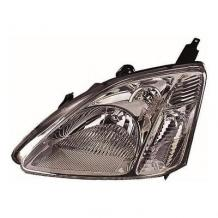 HONDA CIVIC MK7 12/2000-12/2003 SMOKED HEADLAMP HEADLIGHT PASSENGER SIDE LEFT NS