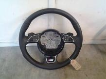 AUDI A6 AVANT TDI QUATTRO S LINE ESTATE 2011-2016 STEERING WHEEL (LEATHER) 8X041