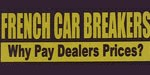 French Car Breakers logo