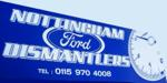 Nottingham Ford Dismantlers logo