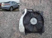 radiator fan + cowling ns  honda civic 1.8 mk8 mk06oed 05-11 sheffield