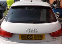 TAILGATE BOOT Audi A1 2014 On 5 Door Hatchback WHITE Candy White (LB9A) -7309751