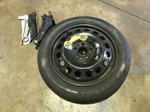 volvo S60 V70 S80 space saver spare wheel with jack and brace 2000 - 2007 models