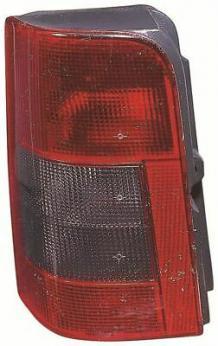 IVATECH Pair of Left and Right Side Rear Lights for Citroen Berlingo Peugeot Partner 2002-2008 Vertical Door