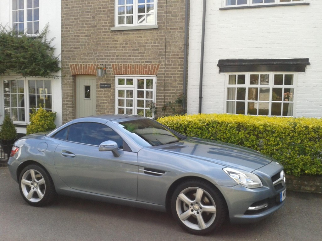 MERCEDES SLK200 BLUEEFFICIENCY AUTO