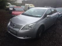 toyota avensis d-4d t2 5dr 2010 fuse box in car