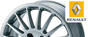 renault  Alloy Wheel